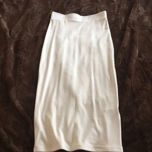 Naked Wardrobe Midi skirt
